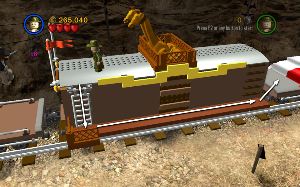 Bonus Level 1 Young Indy Lego Indiana Jones Walkthrough