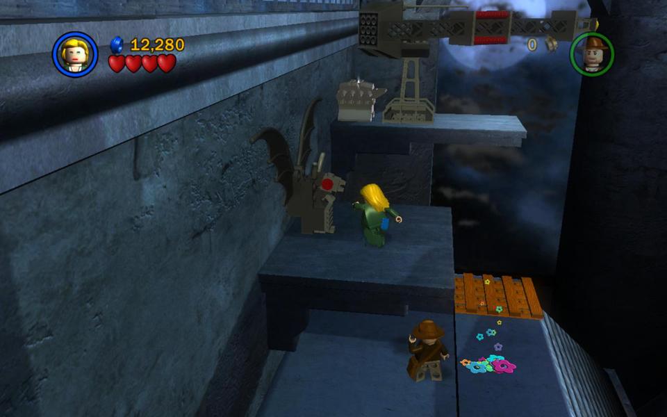 The Last Crusade Level 2 Castle Rescue Lego Indiana
