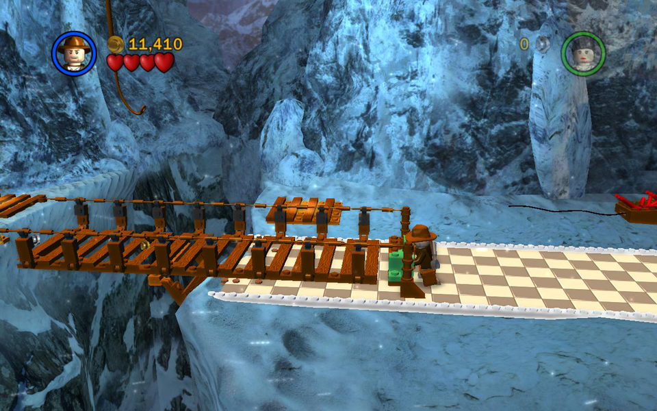 Raiders Of The Lost Ark Level 2 Into The Mountains Lego