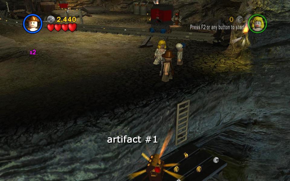 Temple Of Doom Level 5 Escape The Mines Lego Indiana Jones