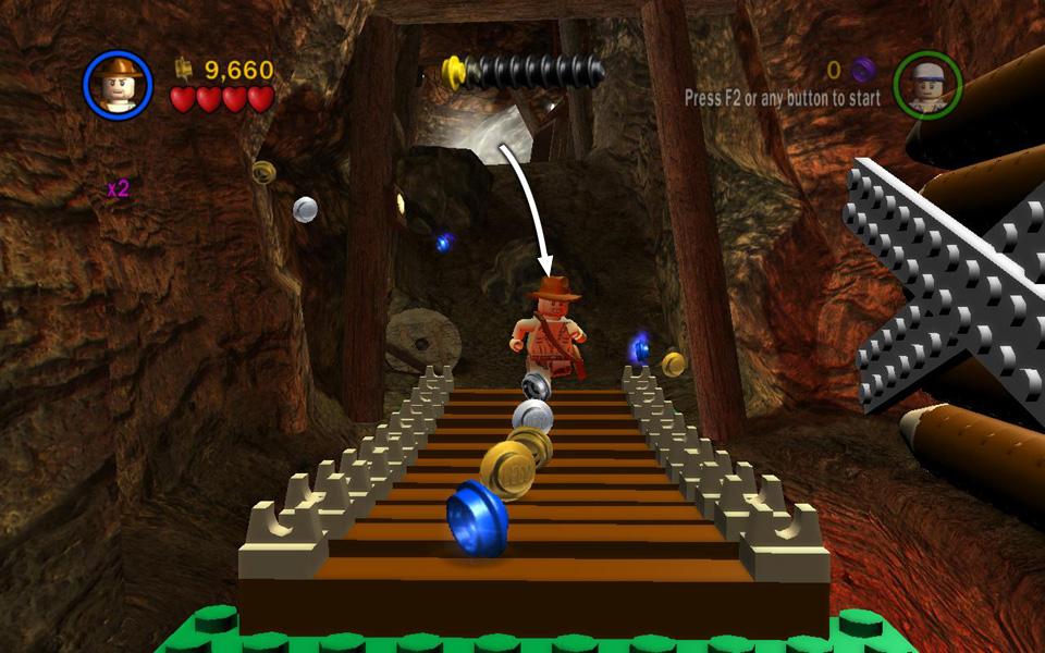 Temple of Doom Level 6: Battle on the Bridge - LEGO Indiana