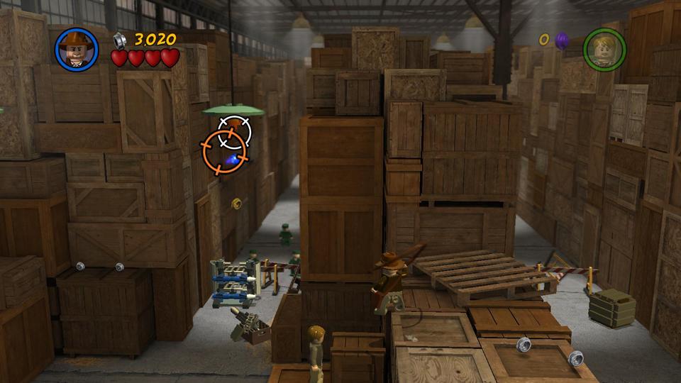 Story Level 1: Hangar Havoc - LEGO Indiana Jones 2