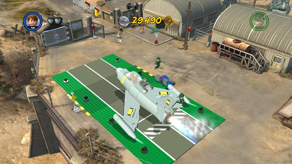 Lego Indiana Jones 2 Crystal Skull Part 1 Hub Map Races And
