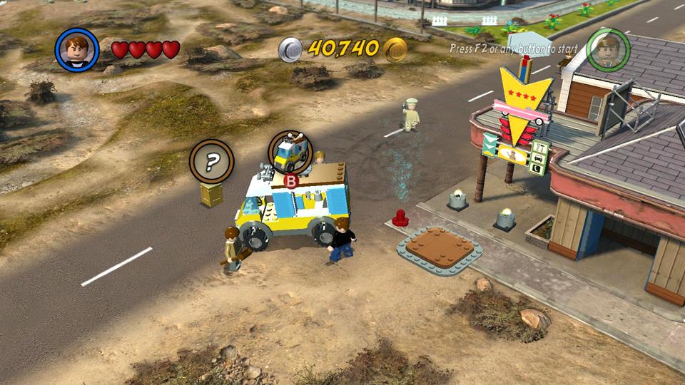 Lego Indiana Jones 2 Crystal Skull Part 1 Vehicles
