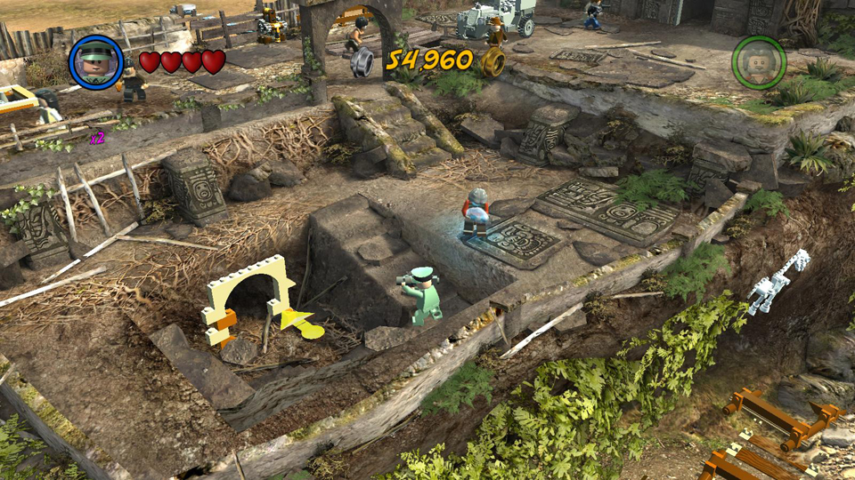 LEGO Indiana Jones 2: Crystal Skull Part 2 - Treasure Levels
