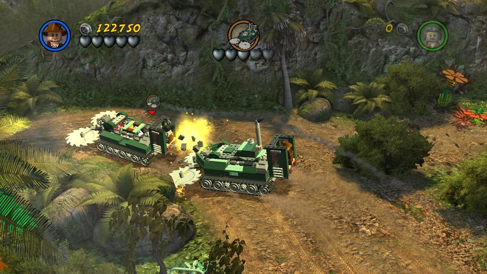 Story Level 4: Rainforest Rumble - LEGO Indiana Jones 2 Walkthrough
