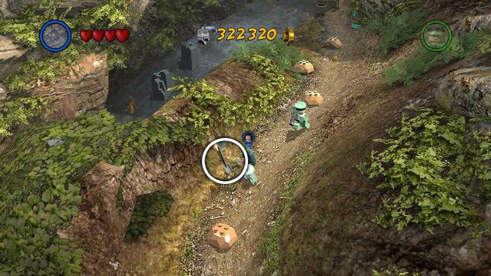 LEGO Indiana Jones 2: Crystal Skull Part 2 - Hub Map, Races and