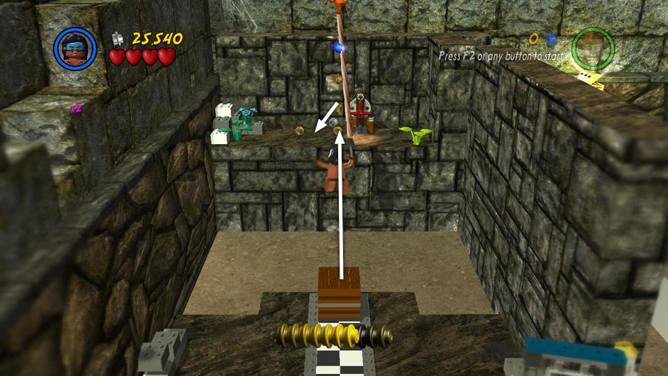 Bonus Level 4 Treasure Room Lego Indiana Jones 2