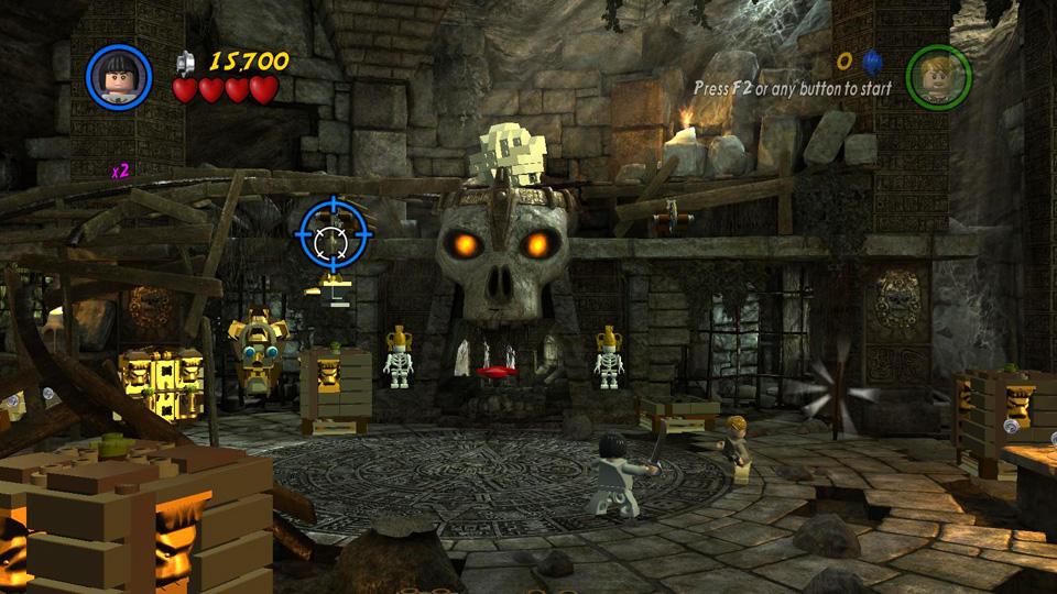 Treasure Level 3 Trick Or Treasure Lego Indiana Jones 2