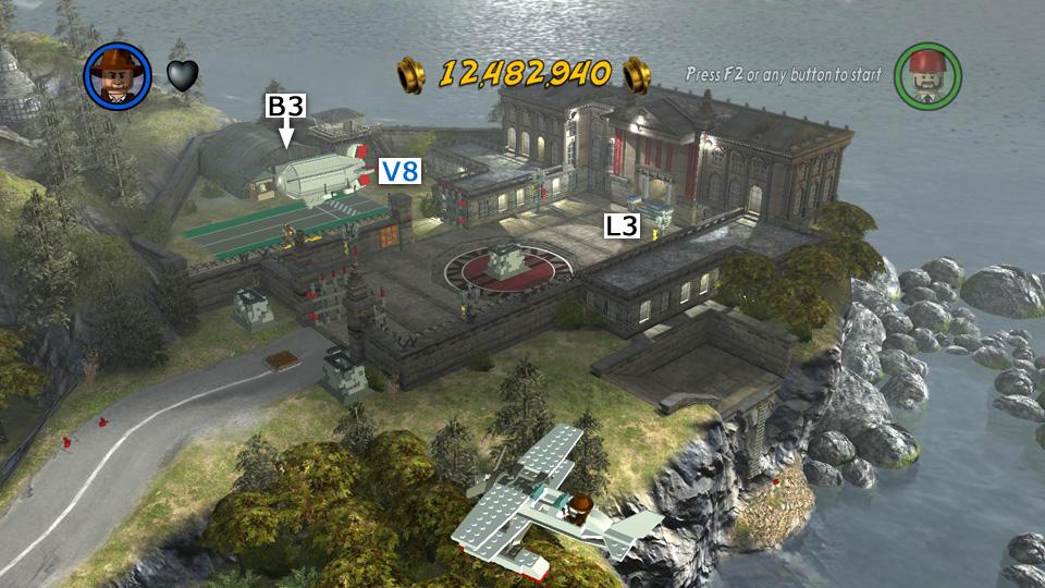 Lego indiana jones 2 last crusade hub map races and challenges lego indiana jones 2 screenshot gumiabroncs Choice Image