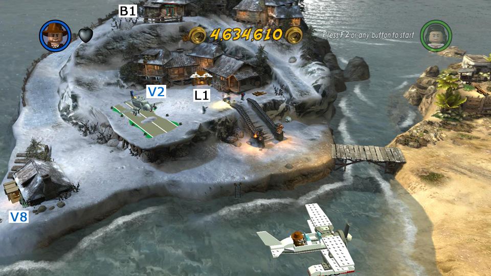 Lego indiana jones 2 raiders of the lost ark hub map races and lego indiana jones 2 screenshot gumiabroncs Choice Image