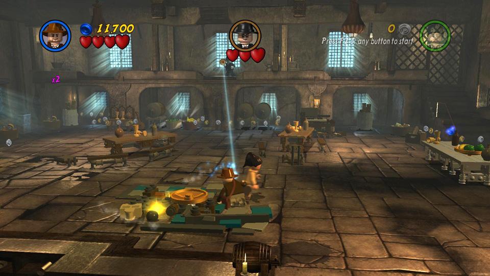 Story Level 1: Raven Rescue - LEGO Indiana Jones 2 Walkthrough