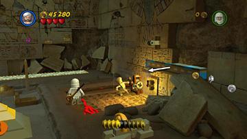 Story Level 3 Map Room Mystery Lego Indiana Jones 2