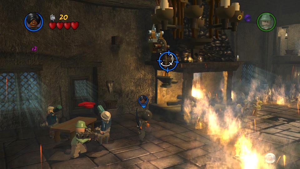 Treasure Level 1: Toasty Tavern - LEGO Indiana Jones 2