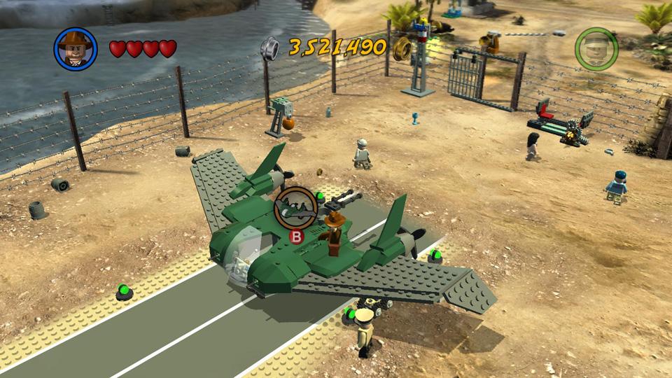 Lego Indiana Jones 2 Raiders Of The Lost Ark Vehicles