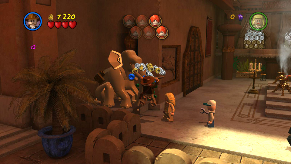 Story Level 3: Malice at the Palace - LEGO Indiana Jones 2 ...