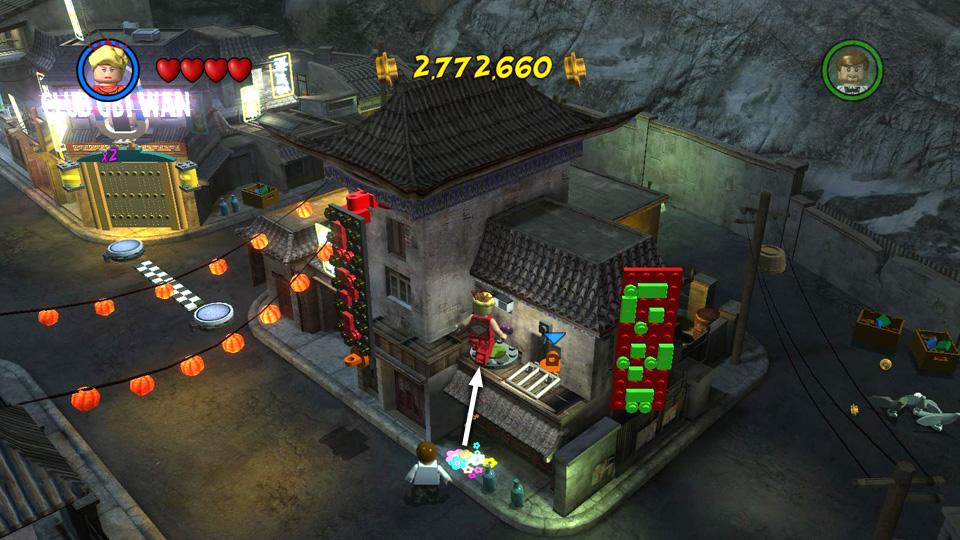 LEGO Indiana Jones 2: Temple of Doom - Story Levels