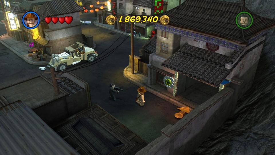 LEGO Indiana Jones 2: Temple of Doom - Treasure Levels