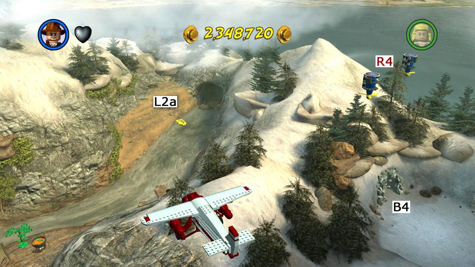 LEGO Indiana Jones 2: Temple of Doom - Hub Map, Races and