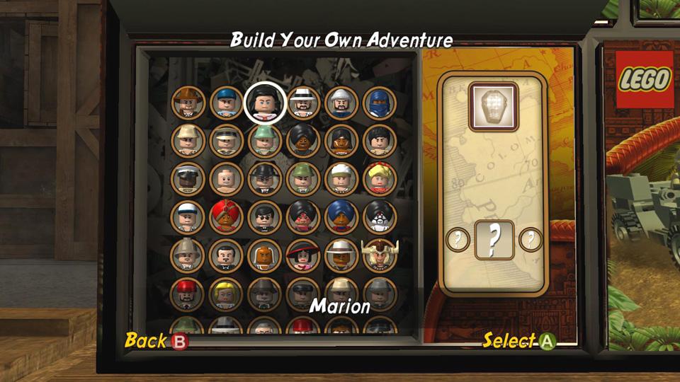 build your own adventure lego indiana jones 2