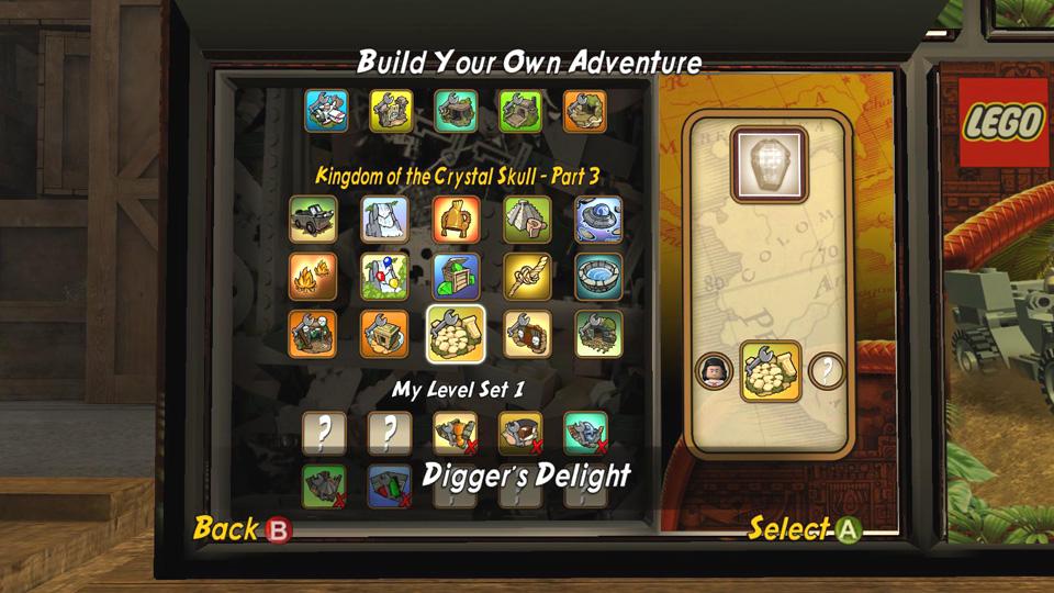 Build Your Own Adventure - LEGO Indiana Jones 2