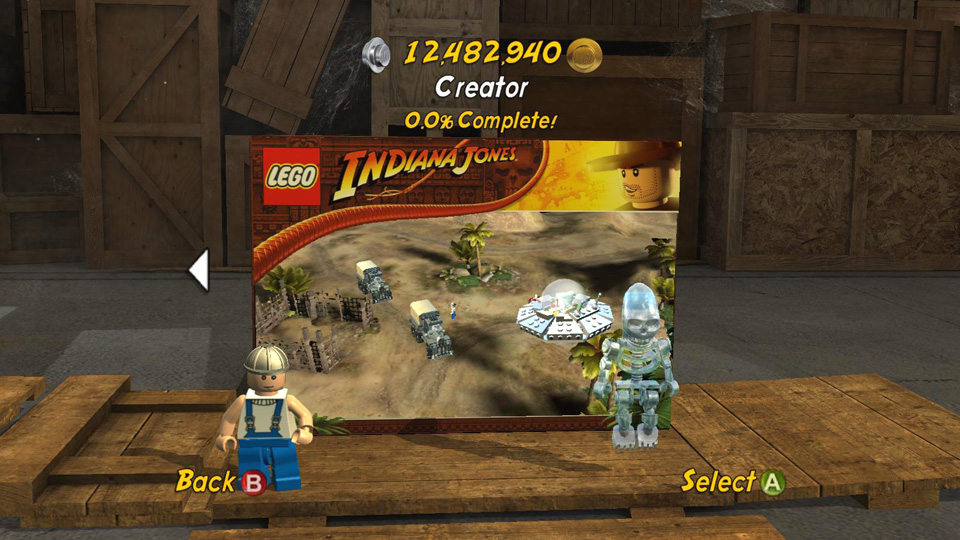 Level Builder Lego Indiana Jones 2