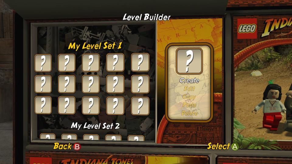 Level Builder - LEGO Indiana Jones 2