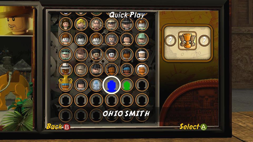 Quick Play Lego Indiana Jones 2