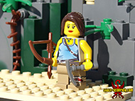 Custom Lara Croft minifig by Saber-Scorpion