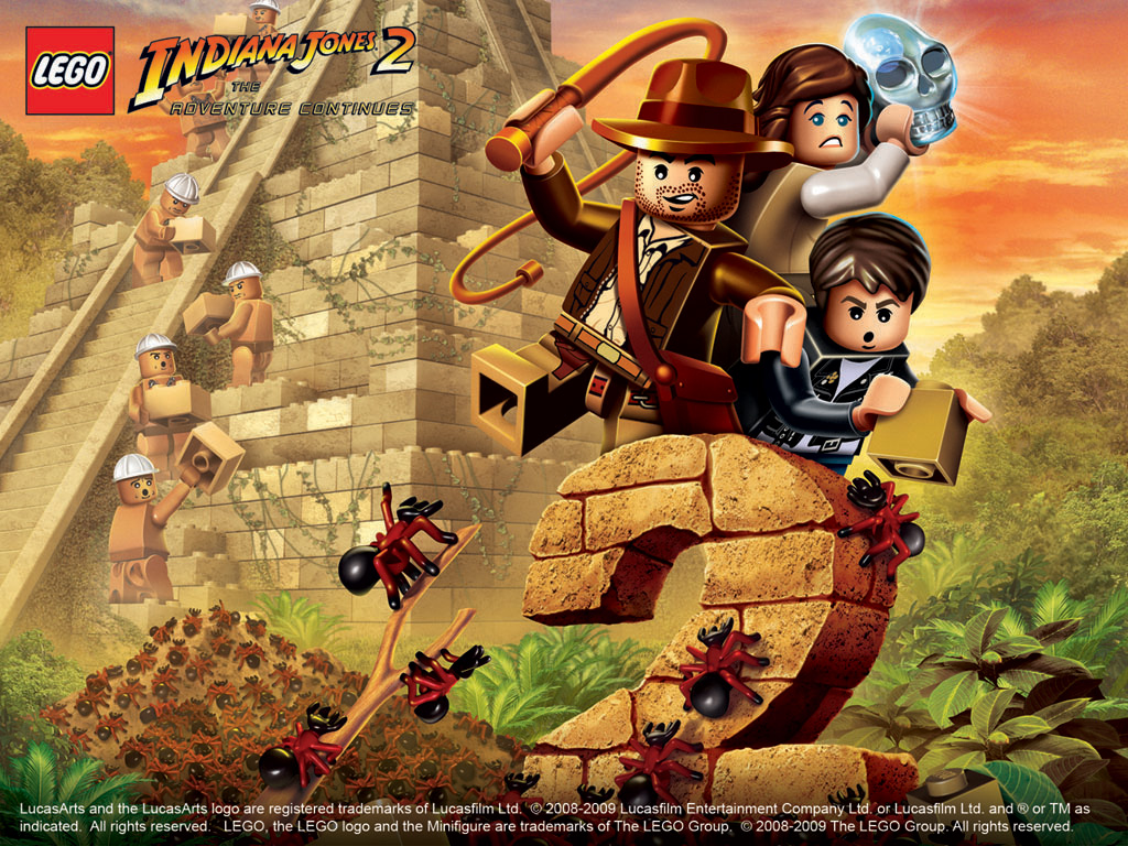 Lego Indiana Jones 2 The Adventure Continues Characters